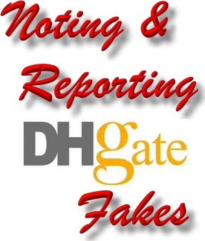 Report DHgate piracy - Remove DHgate fakes