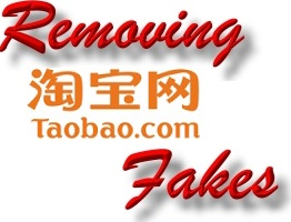 Remove fakes on taobao.com
