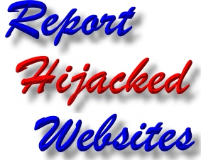 Report Hijacked Website - Report Hacked Website
