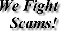 We fight trade mark scams